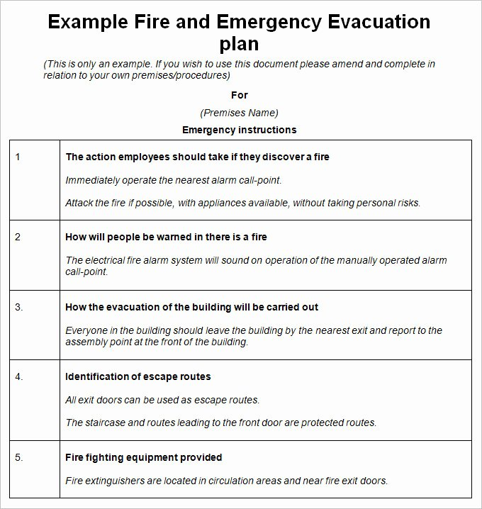 Emergency Evacuation Map Template Lovely 3 Emergency Evacuation Plan Template Word Pdf Google