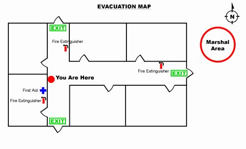 Emergency Evacuation Plan Template Free Elegant How to Create An Emergency Evacuation Map for Your