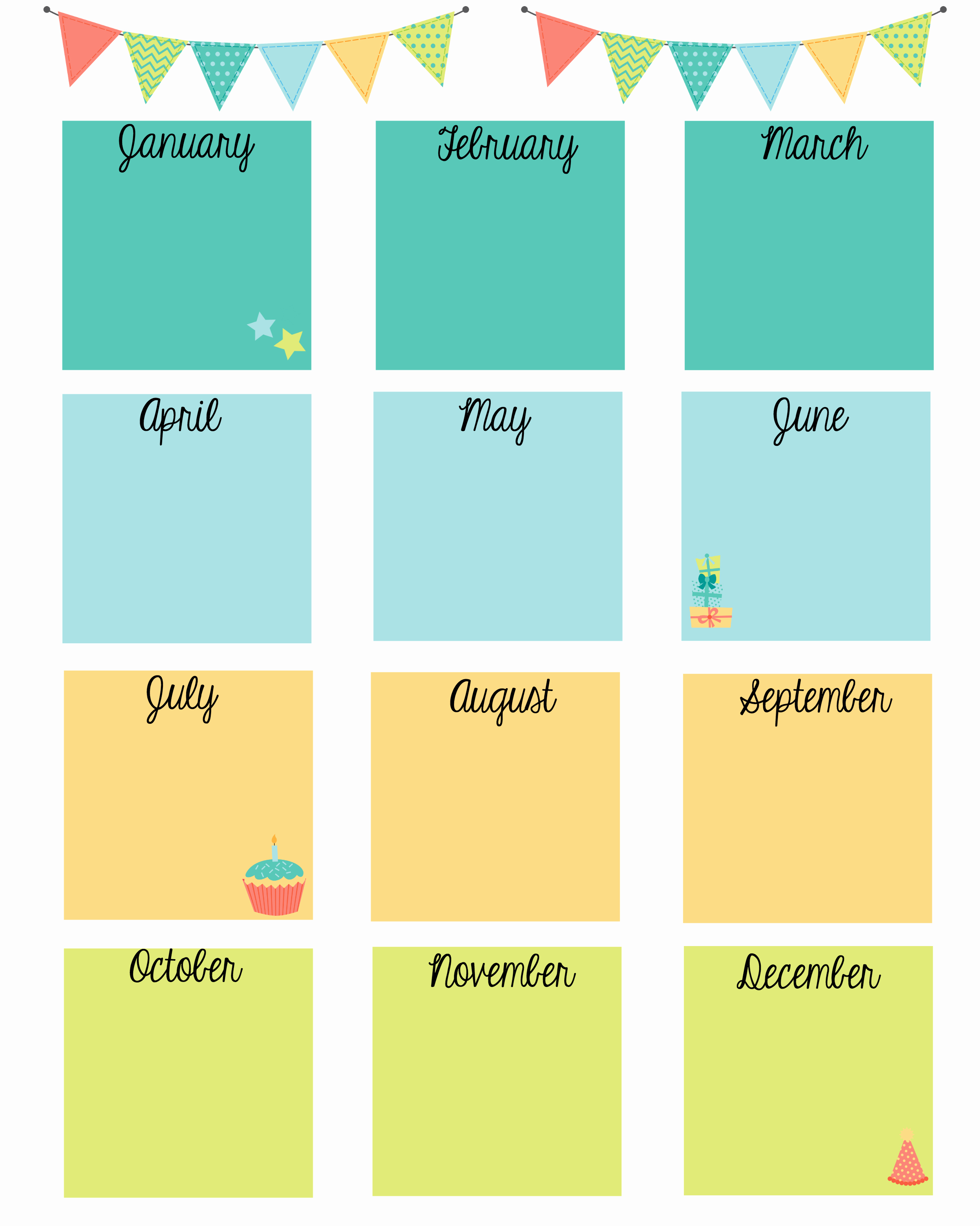 Employee Birthday List Template Best Of Keep In touch with Friends with A Birthday Calendar