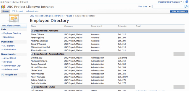 Employee Directory Template Awesome 6 Employee Directory Templates – Word Templates
