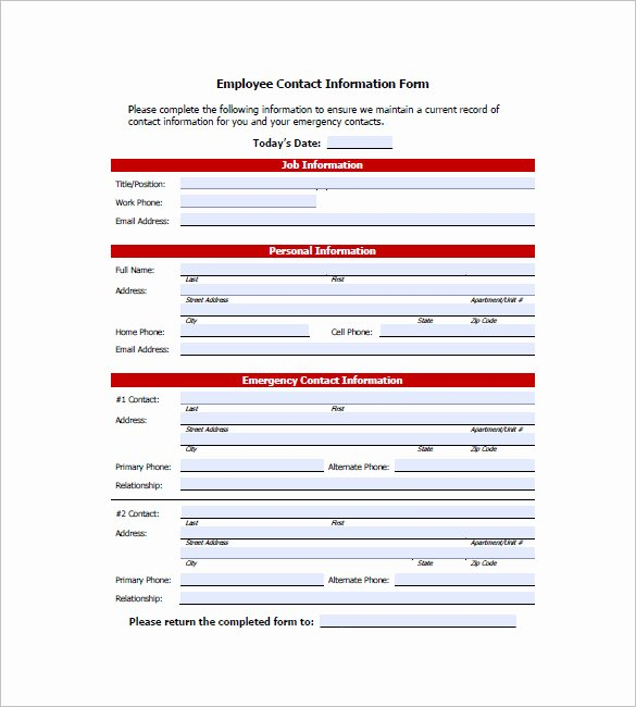 Employee Directory Template Best Of 10 Contact List Examples Pdf