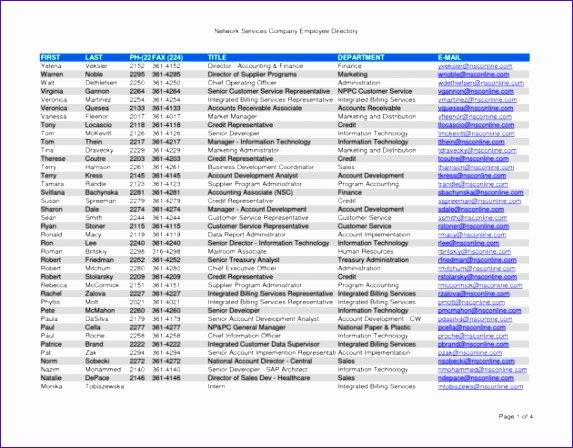 Employee Directory Template Unique 12 Roster Excel Template Exceltemplates Exceltemplates