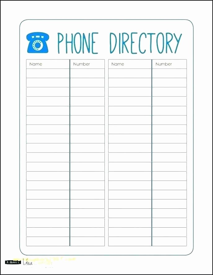 Employee Directory Template Unique Employee List Template Picture – Employee Task List