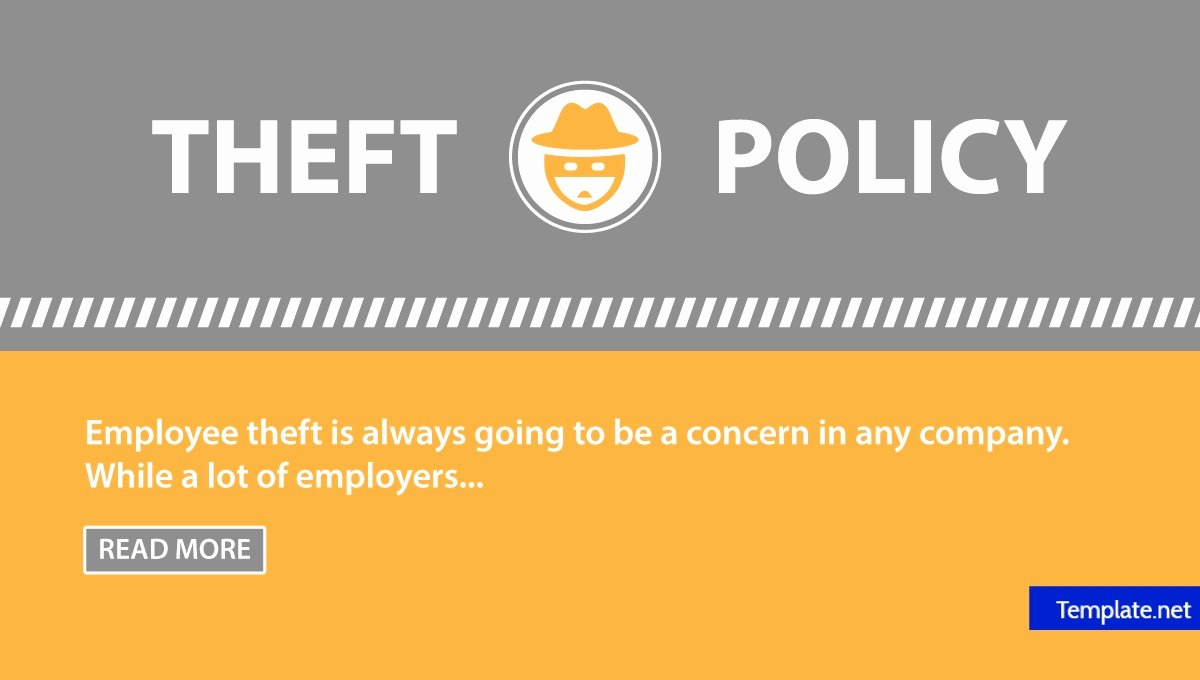 Employee theft Policy Sample Awesome Employee theft Policy Template the Best Employee