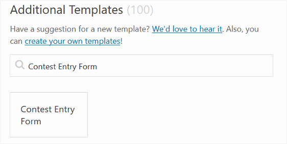 how to create a contest entry form in step by step