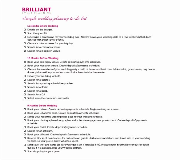 Event Itinerary Template Elegant 26 Wedding Itinerary Templates – Free Sample Example