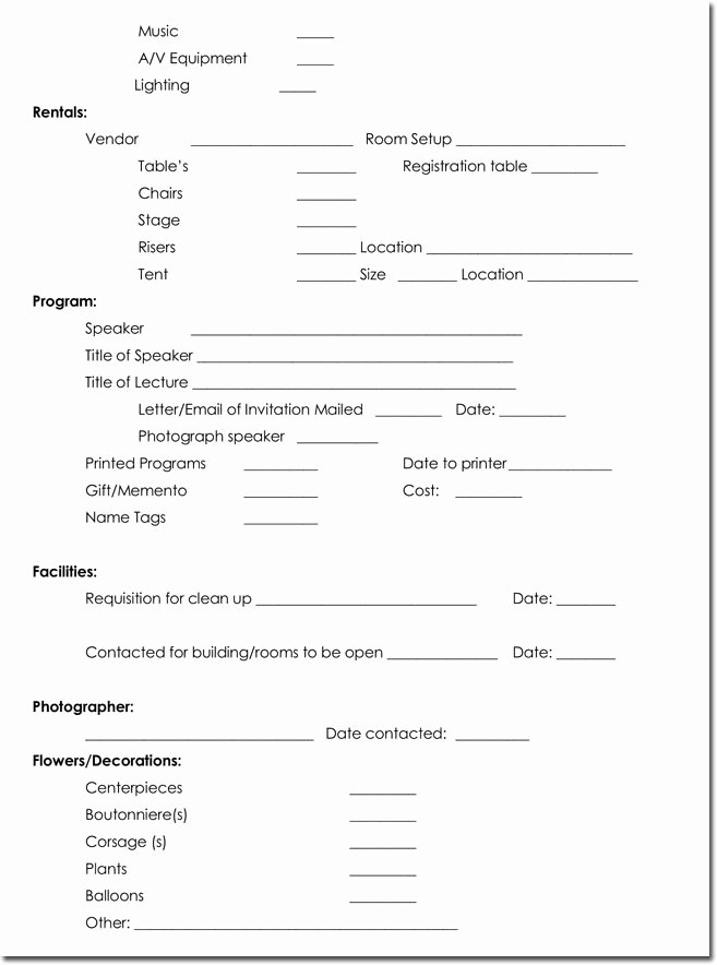 Event Itinerary Template Unique event Itinerary Templates Planners & Schedule Templates
