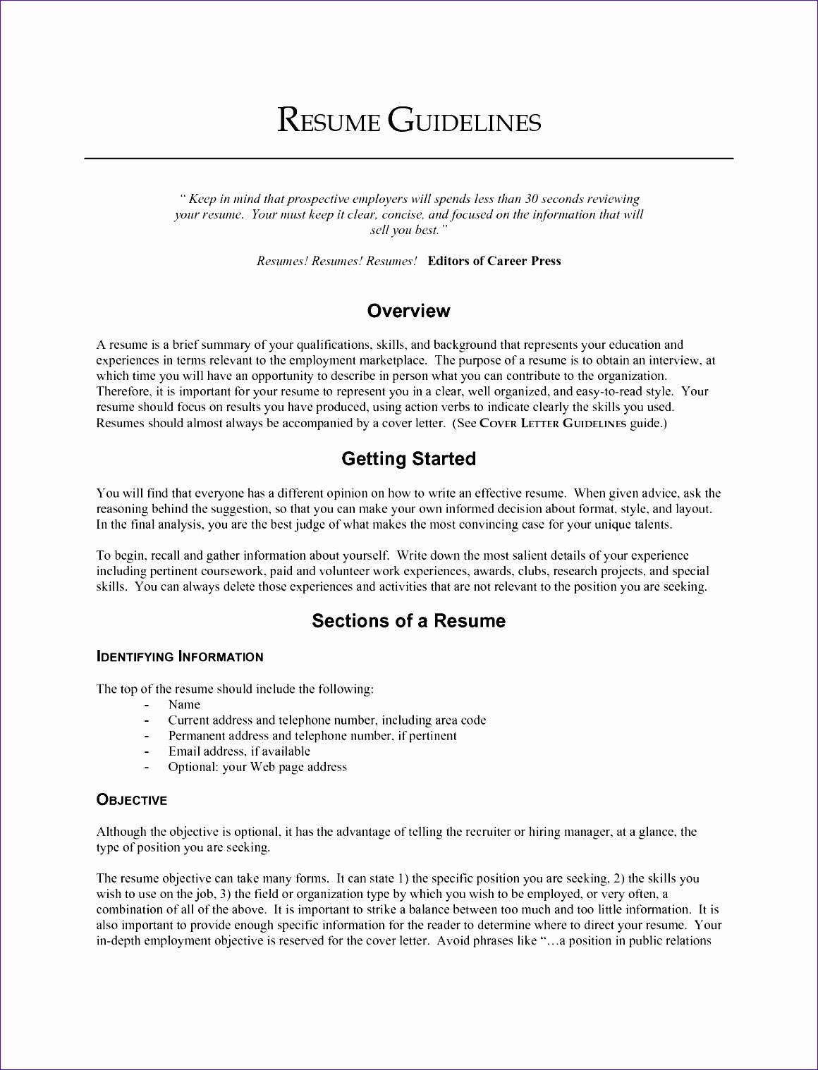 Examples Of Excellent Resumes Lovely 8 Excellent Cover Letter Templates Exceltemplates