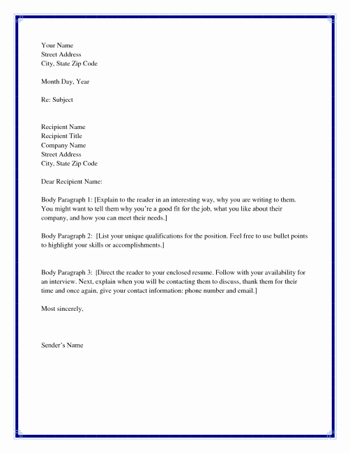 Failed Background Check Letter Awesome Cover Letter Unknown Reader