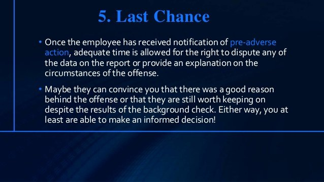 Failed Background Check Letter Best Of Employee Failed Background Check