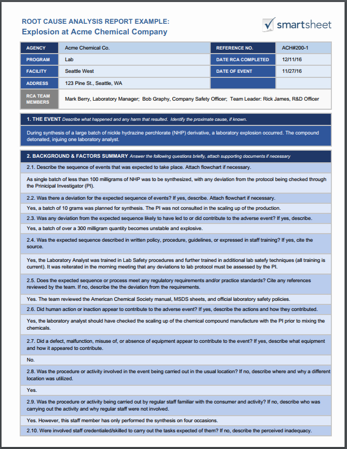 Failed Background Check Letter Best Of Root Cause Analysis Template Collection