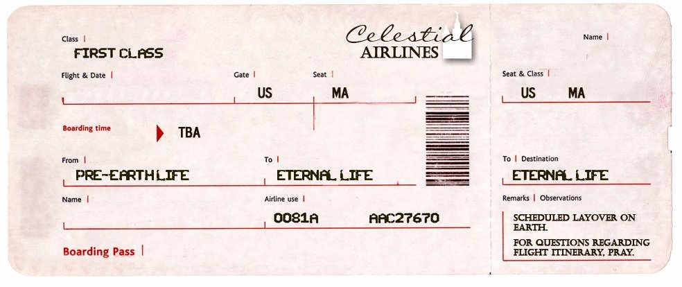blank tickets american airlines