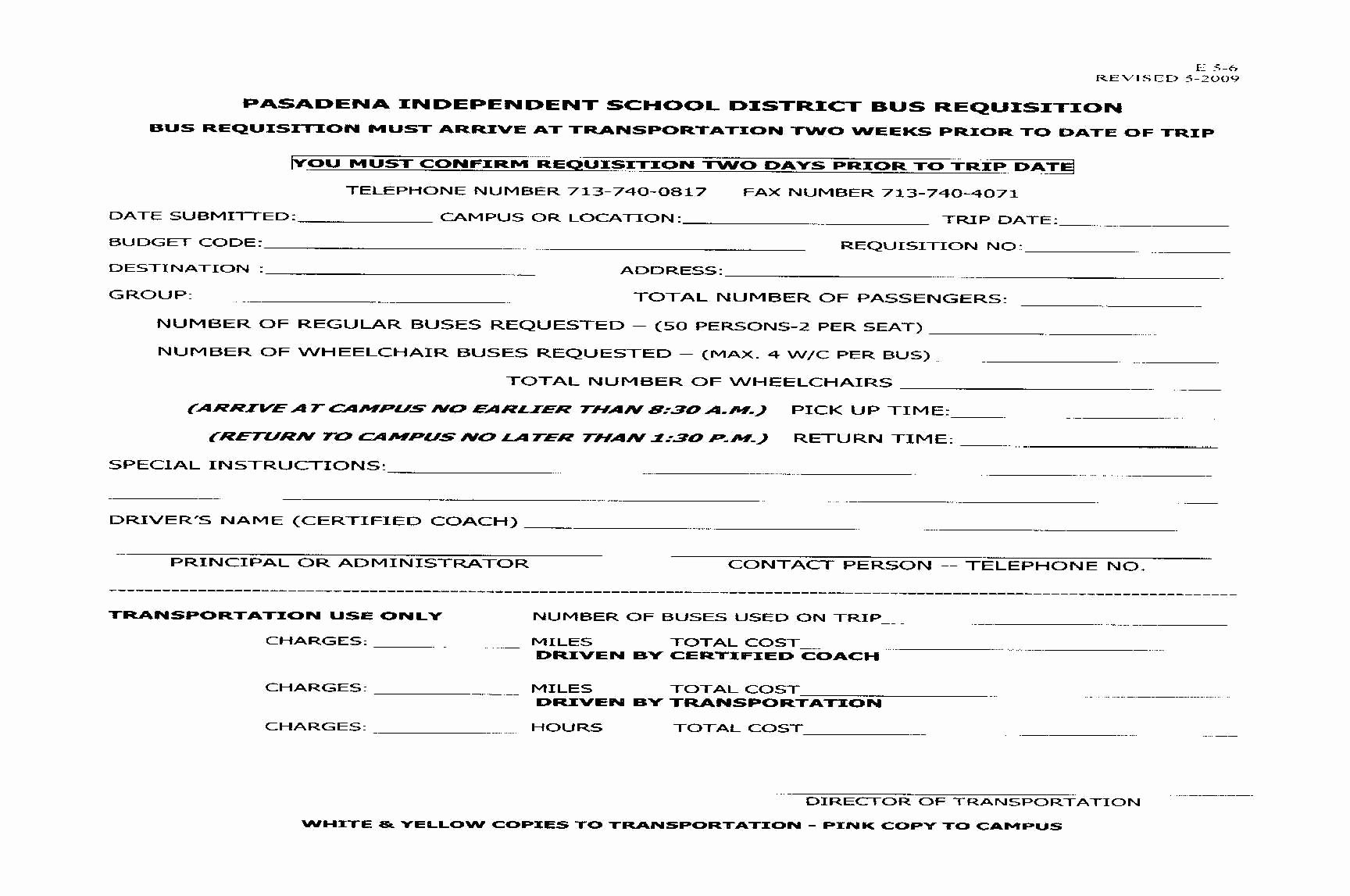 Fake Field Trip form Beautiful Field Trips Pasadena Independent School District