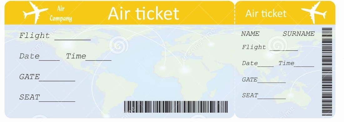 Fake Flight Itinerary Template Awesome Buying An International Airline Ticket
