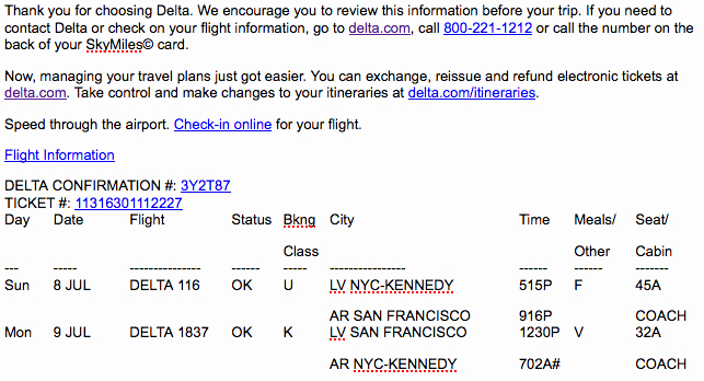 Fake Flight Itinerary Template Beautiful Fake Delta Airlines Itinerary Phishing Scam Ing to An