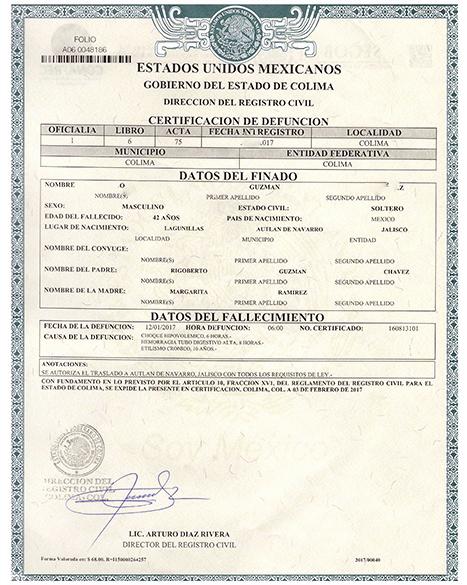 Fake Obituary Maker Fresh Death Certificate