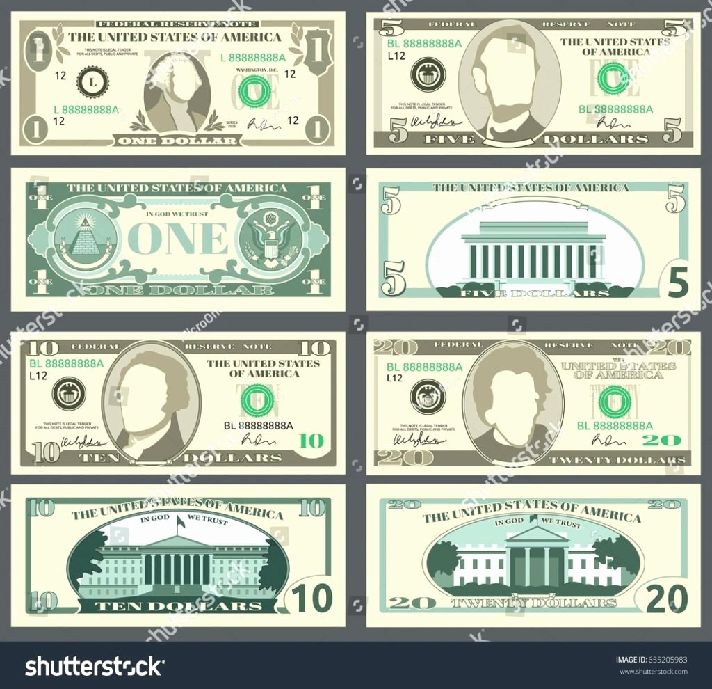Fake Printable Money Best Of Fake Money Template Professional Free order Customizable