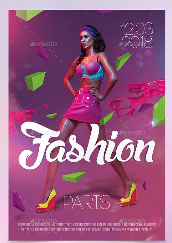 Fashion Show Flyer Template Awesome 30 Best Fashion Flyer Templates