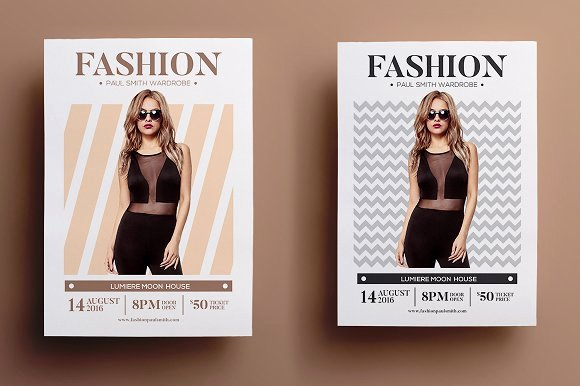 Fashion Show Flyer Template Best Of Fashion Show Flyer Flyer Templates Creative Market