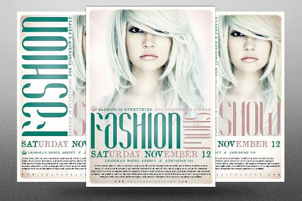 Fashion Show Flyer Template Elegant 16 Fashion Show Flyer Templates In Word Psd Ai Eps