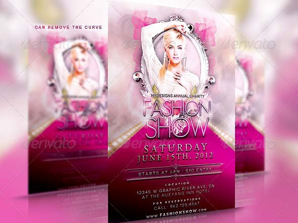 Fashion Show Flyer Template Free Lovely 38 Psd Flyers for Fashion Show & Promo – Desiznworld