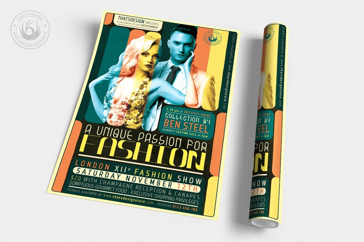 Fashion Show Flyer Template Free Lovely Fashion Show Flyer Template
