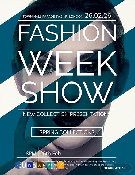Fashion Show Flyer Template Fresh Free Talent Show Flyer Template Download 772 Flyers In