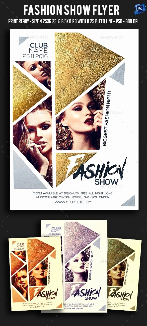 Fashion Show Flyer Template Luxury 1000 Ideas About Poster Presentation Template On