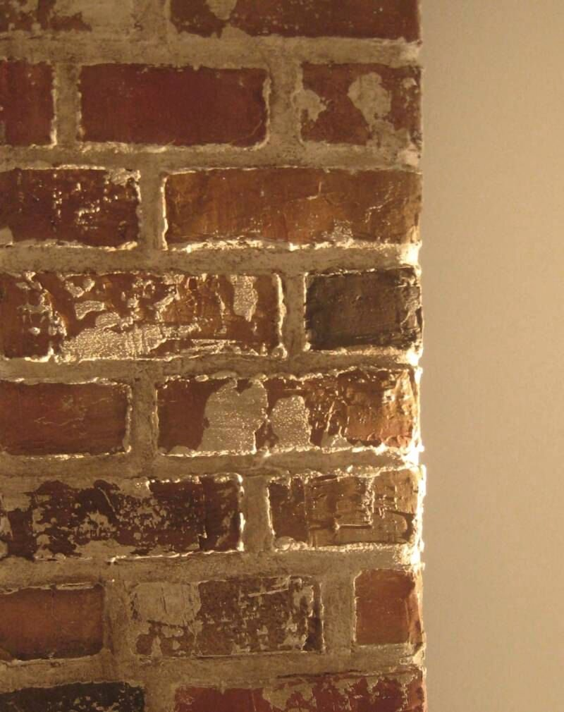 Faux Brick Stencil Awesome Brick Stencil Kit and How to Video Guide Create by