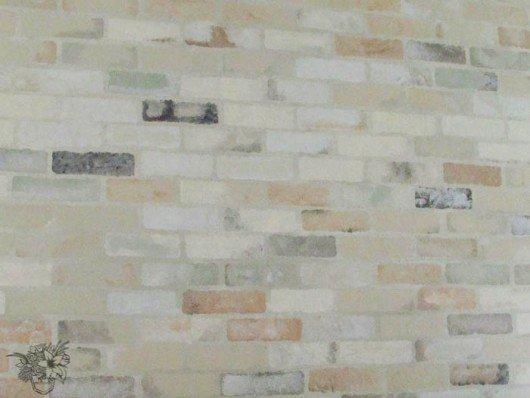 Faux Brick Stencil Elegant Stencils Can Create A Faux Brick Accent Wall