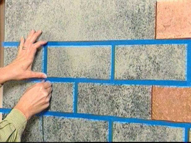 Faux Brick Stencil Inspirational Brick Panels
