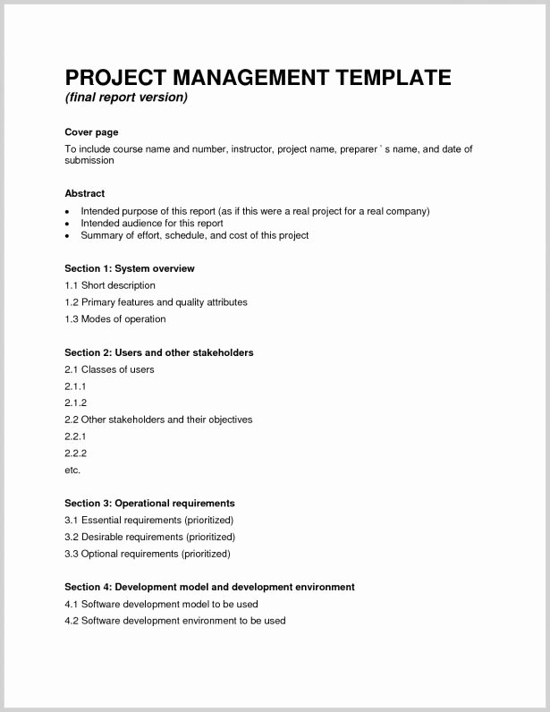 9 sample project pletion reports pdf excel word 2