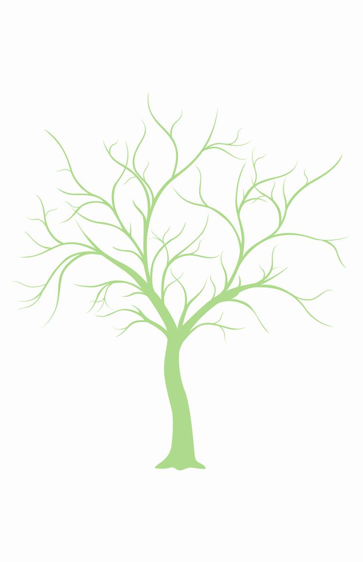 Fingerprint Trees Templates Best Of Weddings4less Free Wedding Printables