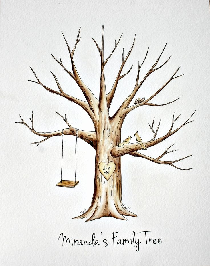Fingerprint Trees Templates Elegant Fingerprint Guestbook Tree Template Hledat Googlem