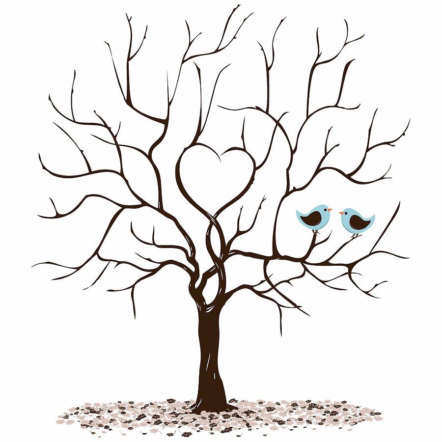 Fingerprint Trees Templates New Personalised Class Leavers Fingerprint Tree Print by