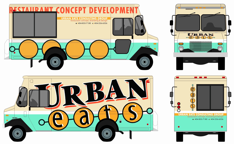 Food Truck Layout Template Elegant Food Truck Autward Design