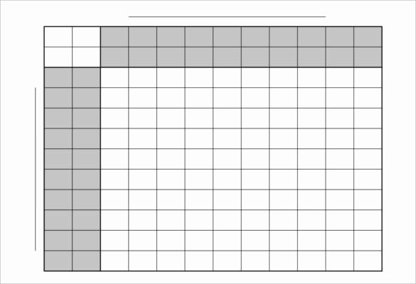 football pool template