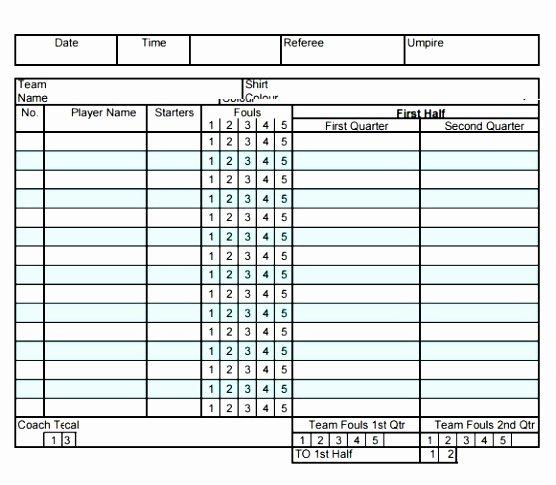Football Stat Sheet Template Excel Beautiful 10 Football Stat Sheet Template Excel Aieer