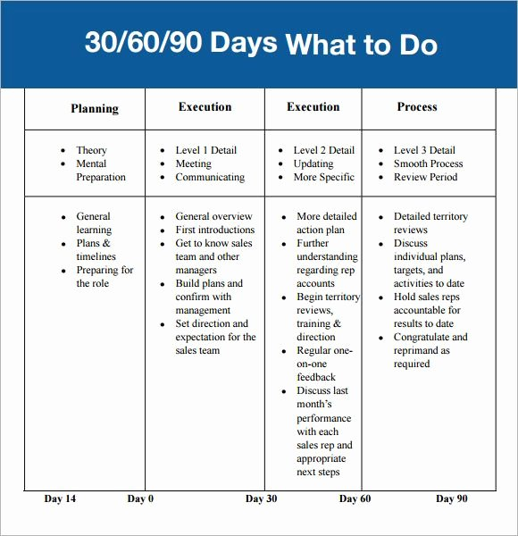 Free 30 60 90 Day Plan Template Word Unique 30 60 90 Day Plan Template Affordablecarecat