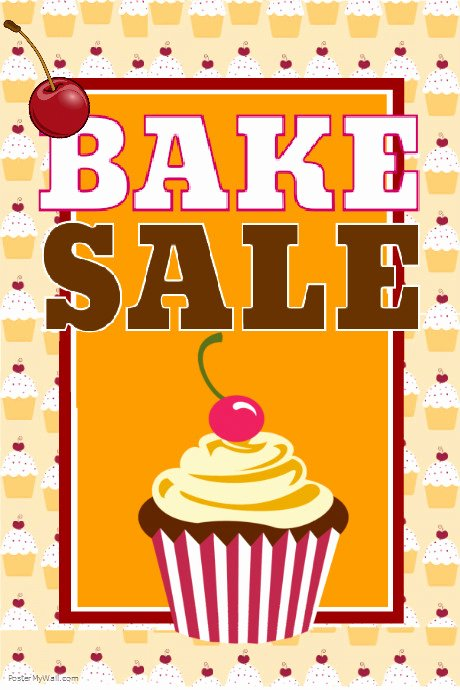 Free Bake Sale Template Fresh Bake Sale Template