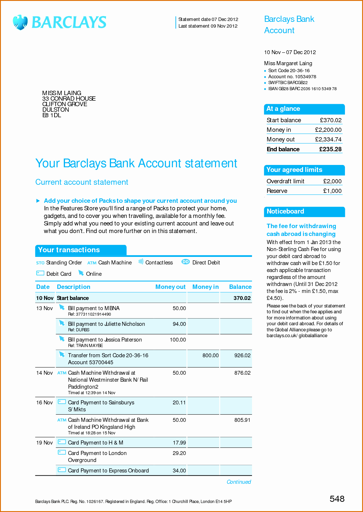 Free Bank Statement Template Unique 8 Bank Statement Template