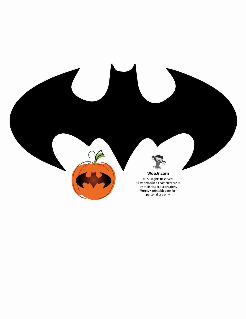 Free Batman Pumpkin Stencil Unique Batman Logo Pumpkin