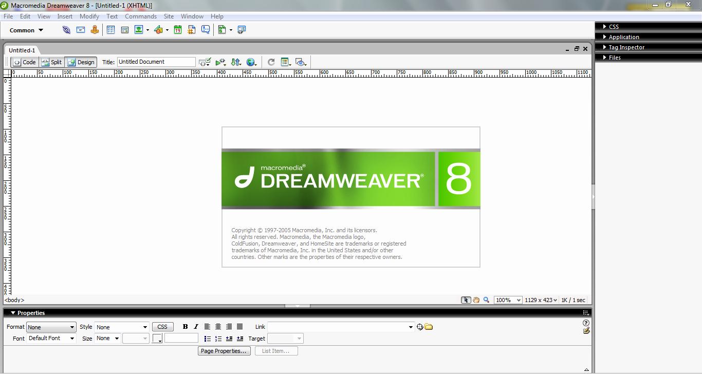 Free Dreamweaver Templates Cs5 New Adobe Dreamweaver