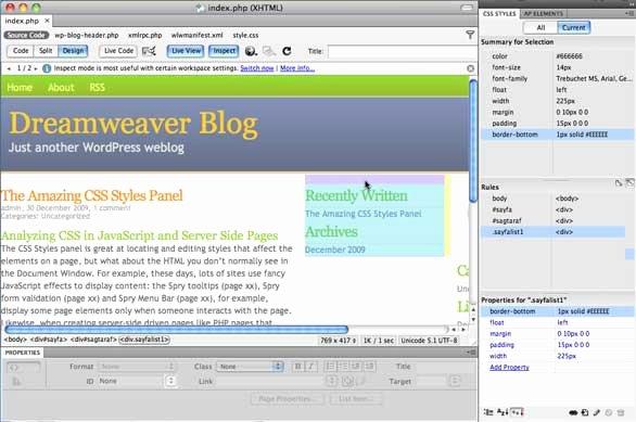 Free Dreamweaver Templates Cs5 Unique Websites Made with Dreamweaver