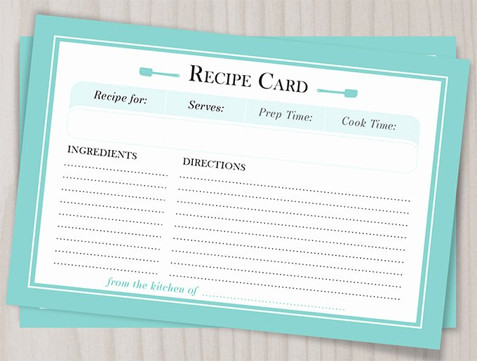 Free Editable Recipe Card Templates for Microsoft Word Awesome 43 Amazing Blank Recipe Templates for Enterprising Chefs