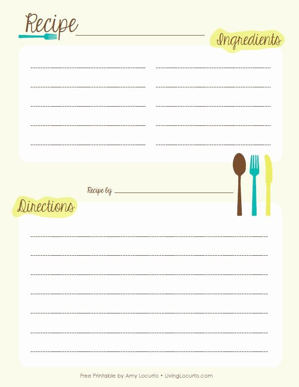 Free Editable Recipe Card Templates for Microsoft Word Lovely 17 Best Images About Printables On Pinterest