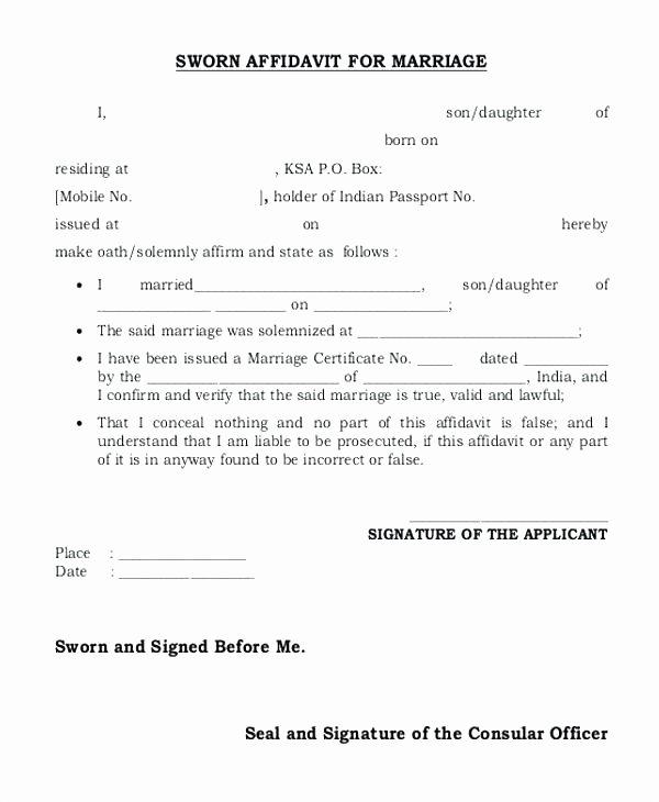 Free General Affidavit form Download Best Of Free Affidavit form Legal Beneficiary Sample Zimbabwe