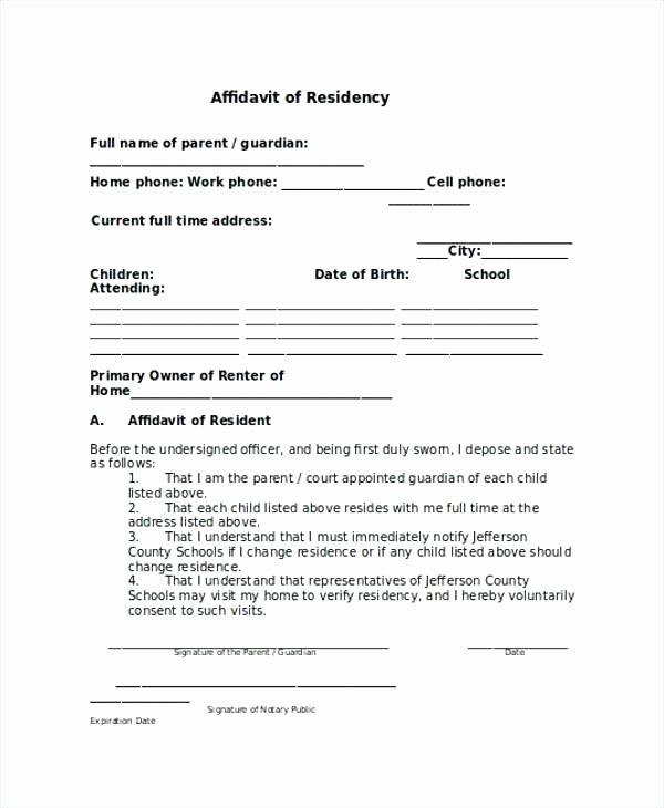 Free General Affidavit form Download Lovely Free Affidavit form Legal Beneficiary Sample Zimbabwe