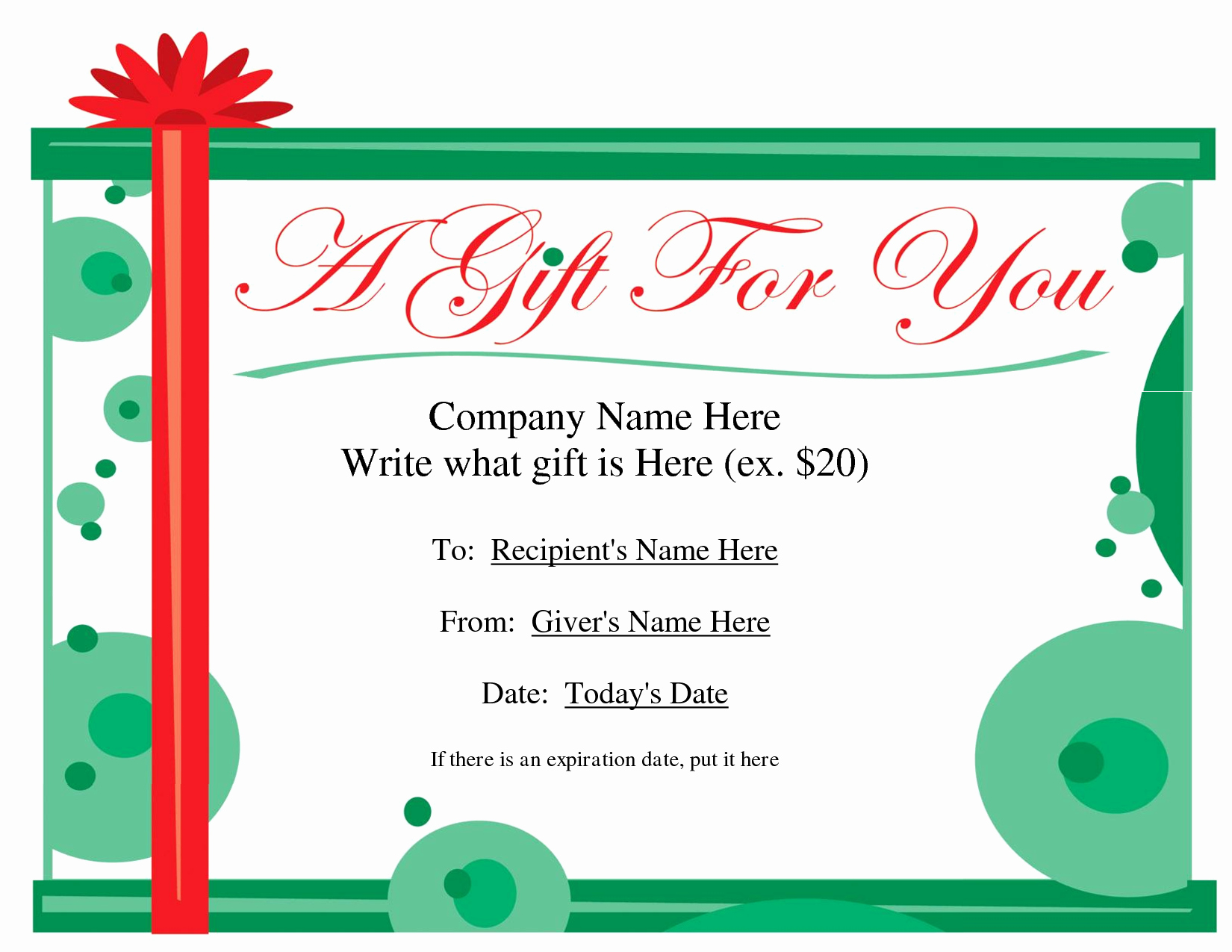 Free Gift Card Templates Beautiful Birthday Gift Certificate Clipart Clipart Suggest
