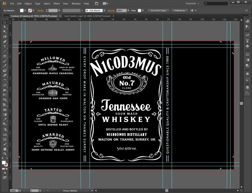 Free Jack Daniels Label Template Awesome Jack Daniels Font Download